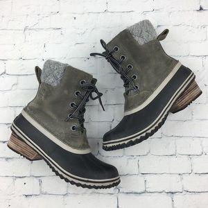 Sorel Slimpack Lace II Winter Boots Sz 7